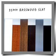 35MM Basswood Slat