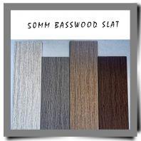 50MM Basswood Slat