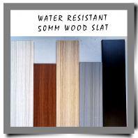 Water Resistant 50mm Wood Slat