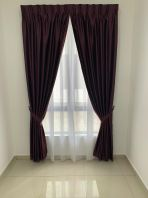 Curtains Matte Fabric