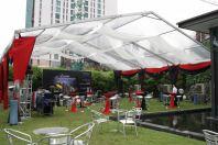 Marquee Tent Transparent