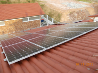 5 kWp, Tile Roof Retrofit (Penang)