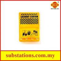 Lockout / Tagout PVC Station