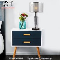 CK LIGHTING MODERN SILVER WITH CRYSTAL TABLE LAMP (TB-80002-IT).