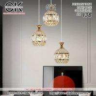 CK LIGHTING PENDANT 3 IN 1 LONG BASE GOLD/SILVER (SX-P-10461/3)