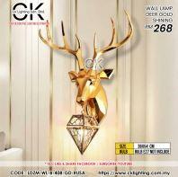 CK LIGHTING DEER GOLD SHINING (LDZM-WL-408-GD-RUSA)