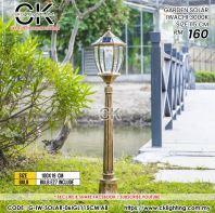 CK LIGHTING GARDEN SOLAR IWACHI 3000K SIZE 115CM (G-IW-SOLAR-061GL115CM-AB)