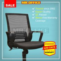 MR.OFFICE : E8 MIDBACK MESH CHAIR