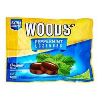 Wood's Original Peppermint Lozenges Cough 6 Drops