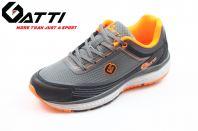 GATTI Men Hiking Shoe -GS-205101-11-5- GREY/ORANGE Colour