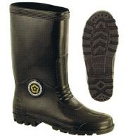 Korakoh Black Rain Boot ( Normal )