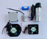 CAPACITOR BANK, CONDENSOR, COOLING FAN, VIDEO FAN, COOLING BLOWER,