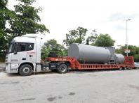 Low loader for rental