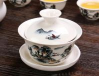RT9007 3PCS TEA CUP W/COVER
