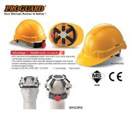 Proguard Safety Helmet with Stealth Lock, Model: HG1-WHG3RS