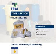 Oil Spill Kit Bag 30L TAGS-SK30O