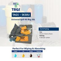 Universal Spill Kit Bag 30L TAGS-SK30U