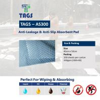Anti Leakage & Anti Slip Absorbent Pad TAGS-AS300
