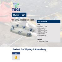 Tags Oil Only Absorbent Sock
