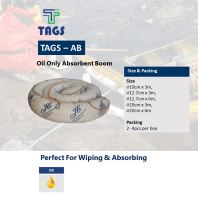 Tags Oil Only Absorbent Boom