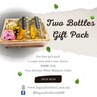 2 Bottles Fresh Cook Birdnest Gift Pack - RM88