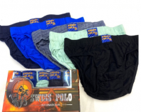 SWISS POLO Underwear 5 Pcs NATURAL COTTON