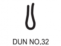No.32 Dunlop W/Strip 1468