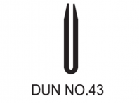 No.43 Dunlop W/Strip 43d