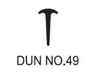 Dun No.49 Dunlop W/Strip