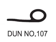 No.107 Dunlop W/Strip 1456