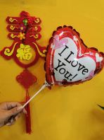 Heart Shape Love Balloon(Random Design)