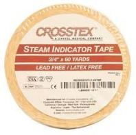 STEAM INDICATOR TAPE, NON-LATEX, CROSSTEX (USA)