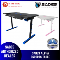 Sades Alpha eSports Gaming Table BLUE/BLACK