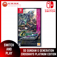 NSW Nintendo Switch SD Gundam G Generation Crossrays Platinum Edition