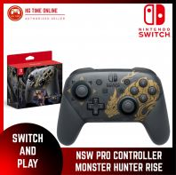 NSW Nintendo Switch Pro Controller Monster Hunter Rise
