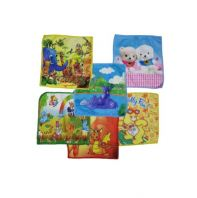 [ MALAYSIA READY STOCK ] 6 PCS / KIDS HANDKERCHIEF SUPER SOFT CHILDREN HAND TOWEL SAPU TANGAN BUDAK