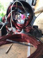 Induction Motor Rewinding & Repairing
