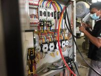 Installing & Commissioning Switchboard & Machine Motor Cable