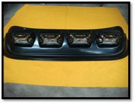 Car Roof Top (SQUARE) (YELLOW) (S/N:000372)