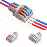 QUICK MULTIPLE PLUG-IN WIRE CONNECTOR