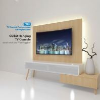 "CP01 | 3.5ft TV Cabinet + 40"" Full HD LED TV 