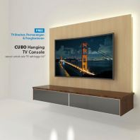 "CP04 | 7.5ft TV Cabinet + 48"" Full HD LED TV 