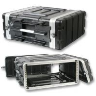 ABS Microphone Flight Case - 4US (17 inch depth)