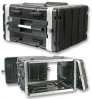 ABS Microphone Flight Case - 6US (17 inch depth)