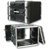 ABS Microphone Flight Case - 8US (17 inch depth)
