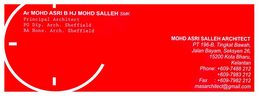MOHD ASRI SALLEH ARCHITECT