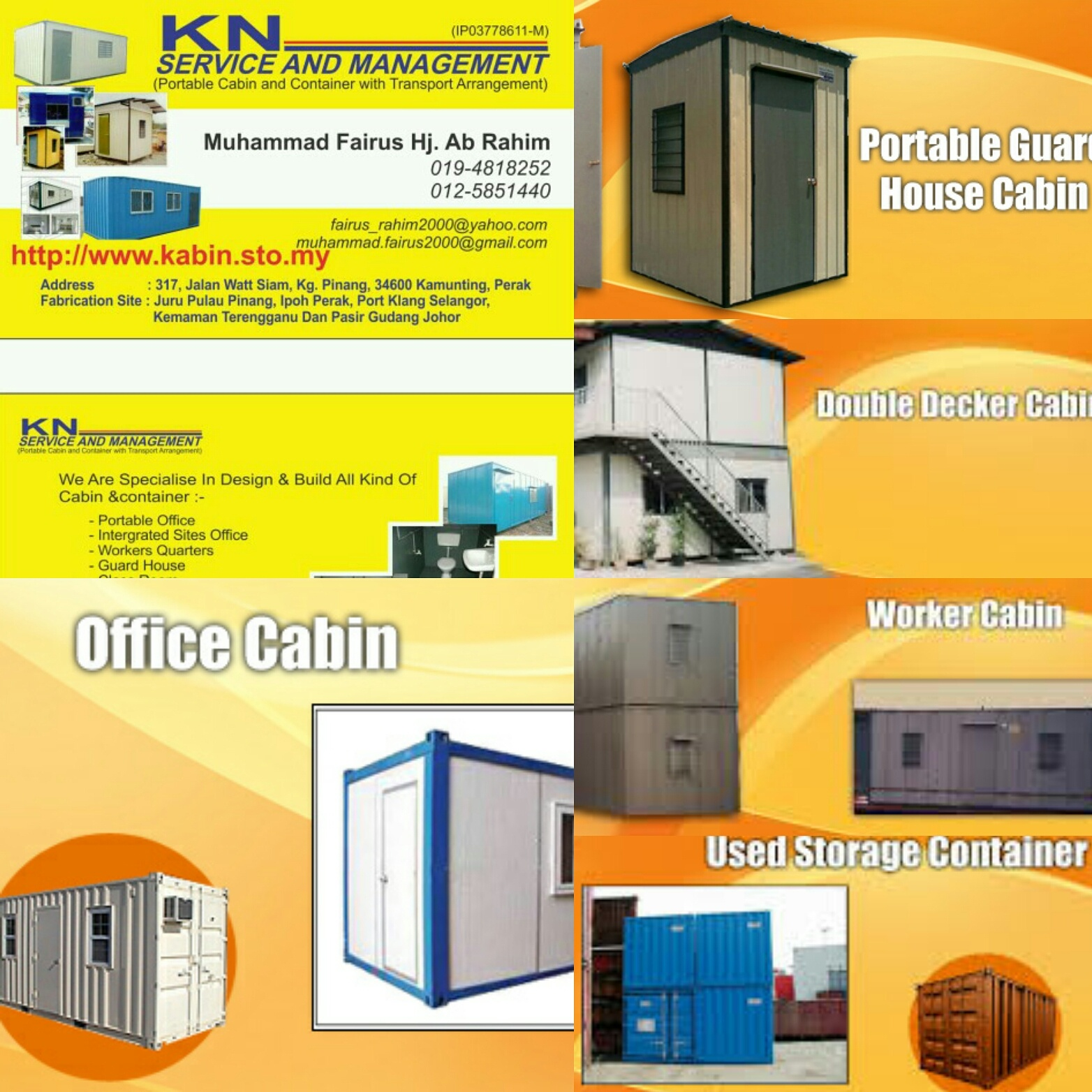 KN SERVICE AND MANAGEMENT