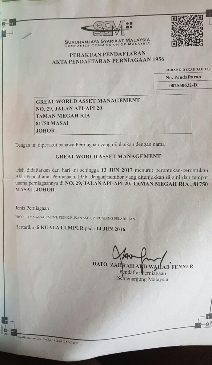 Great World Asset Management