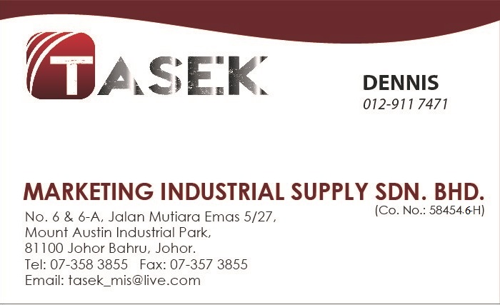 TASEK Marketing Industrial Supply Sdn Bhd