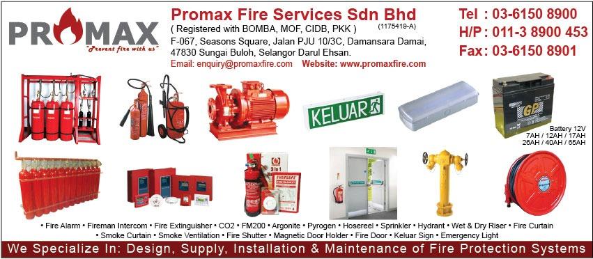 PROMAX FIRE SERVICES SDN BHD